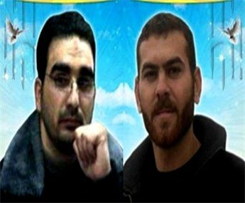 Bilal Diab, 27, from Jenin, and Thaer Halahla, 33, from Hebron have refused food for 64 days. (Source: Maan)